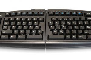 The Goldtouch V2 Adjustable Keyboard