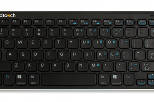 The Goldtouch Bluetooth Mini Keyboard