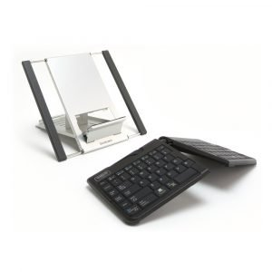 The Goldtouch Go!2 Mobile Keyboard and Notebook Stand Bundle