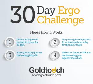 30 Day Challenge Goldtouch Ergonomics Culture