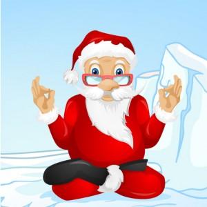 Santa Yoga The Ugly Elf