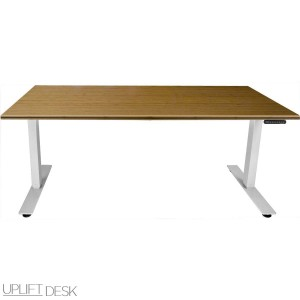 The Human Solution Uplift Desk Bamboo