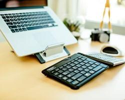 Temporary Permanent Mobile Ergonomic Keyboard