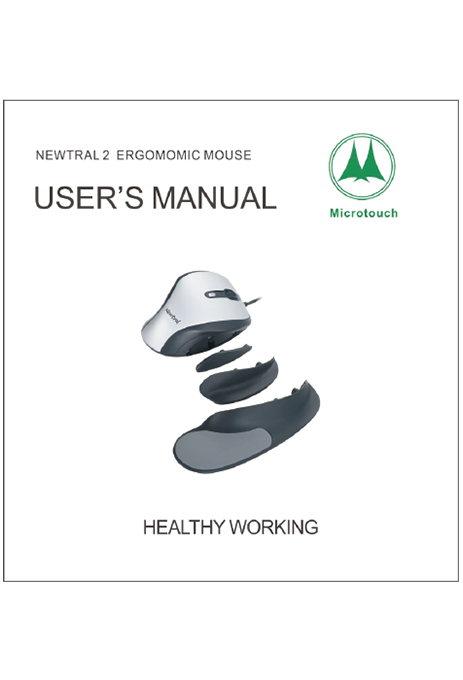 Newtral 2 Ergonomic Mouse User's Manual