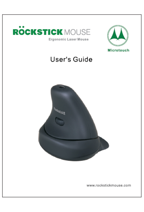 Rockstick Mouse User's Guide