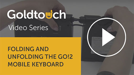 How to fold your Go!2 Mobile Keyboard