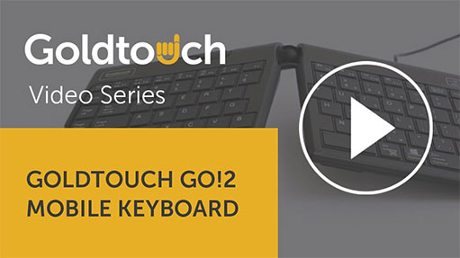 The Goldtouch Go!2 Mobile Keyboard