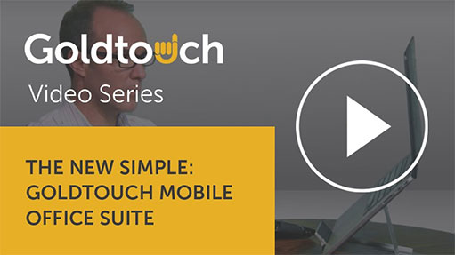 The New Simple: The Goldtouch Mobile Office Suite