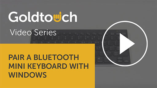 How to pair your Bluetooth Mini Keyboard with Windows