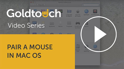How to pair your Bluetooth mouse in Mac OS