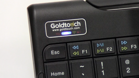 Goldtouch keyboard pairing mode blue light no passcode generated blog