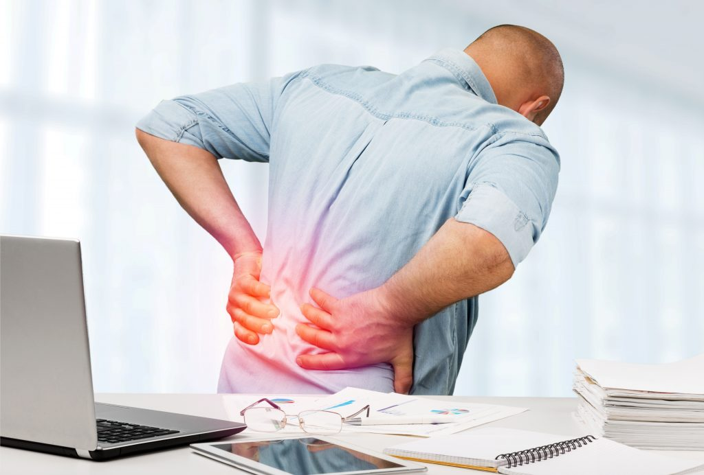Lower Back Pain in the Office