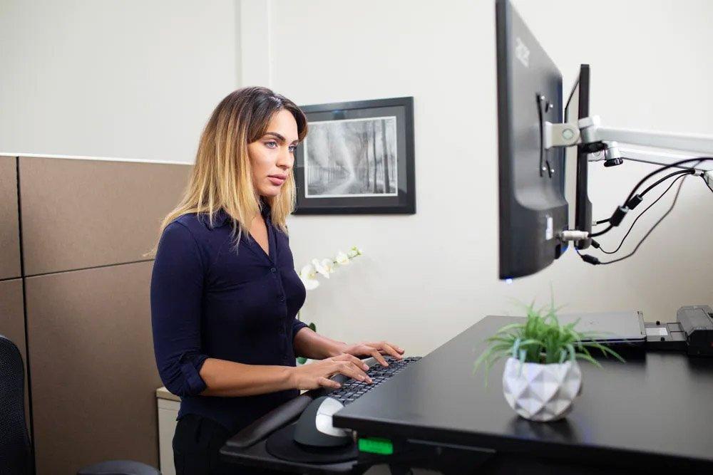 New EasyLift Adjustable Standing Desk