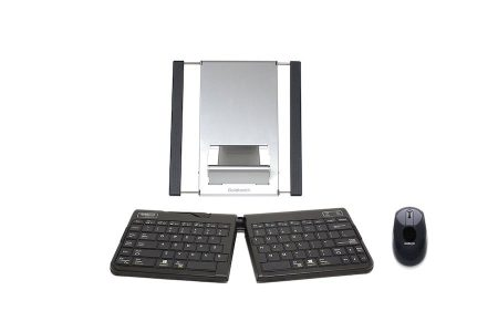 Ergonomic Tablet Stand and Keyboard and Mouse