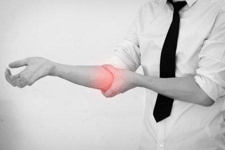 image denoting elbow pain